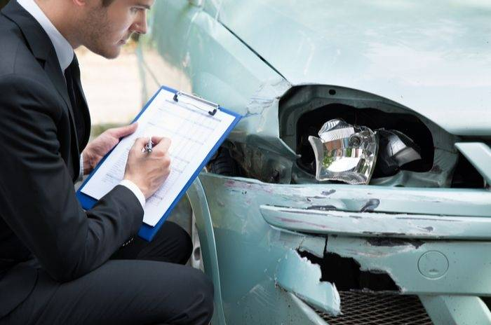 car insurance claim London